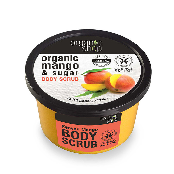 Organic Shop Body Scrub - Organic Mango & Sugar