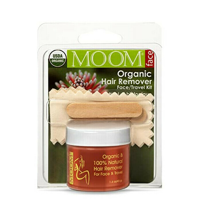 MOOM Organic Hair Removal - Face or Travel Kit
