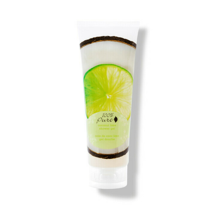 100% Pure Coconut Lime Shower Gel