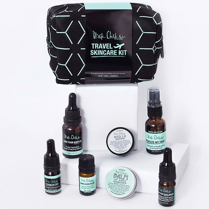 Black Chicken Remedies Travel Skin Care Pack