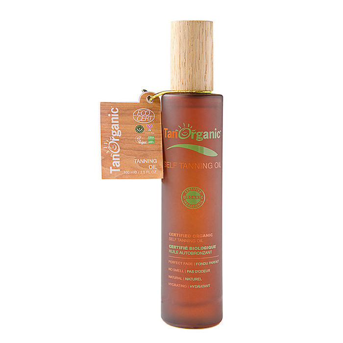 All Natural Tanning Oil