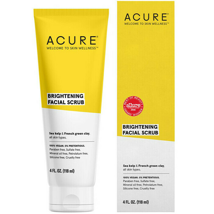 Acure Brilliantly Brightening Facial Scrub Nourished