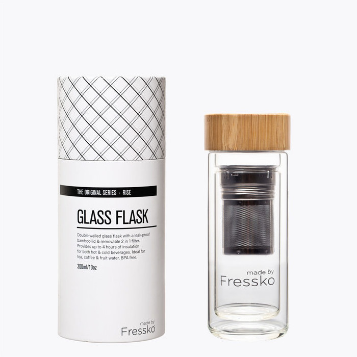 Fressko Glass Tea Flask - Rise