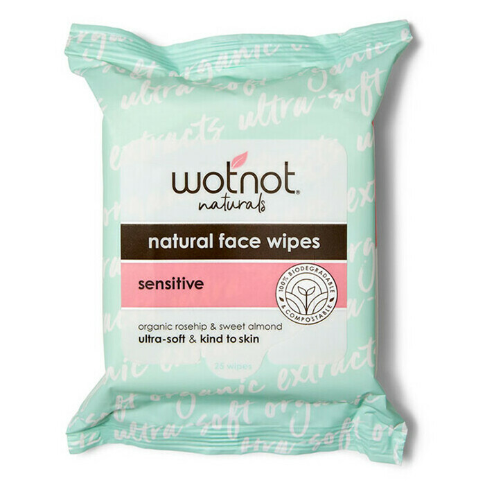 WOTNOT Facial Wipes - Sensitive / All Skin Types