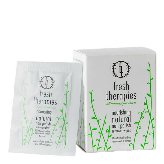 Fresh Therapies Nail Polish Remover Wipes | Nourished Life Australia