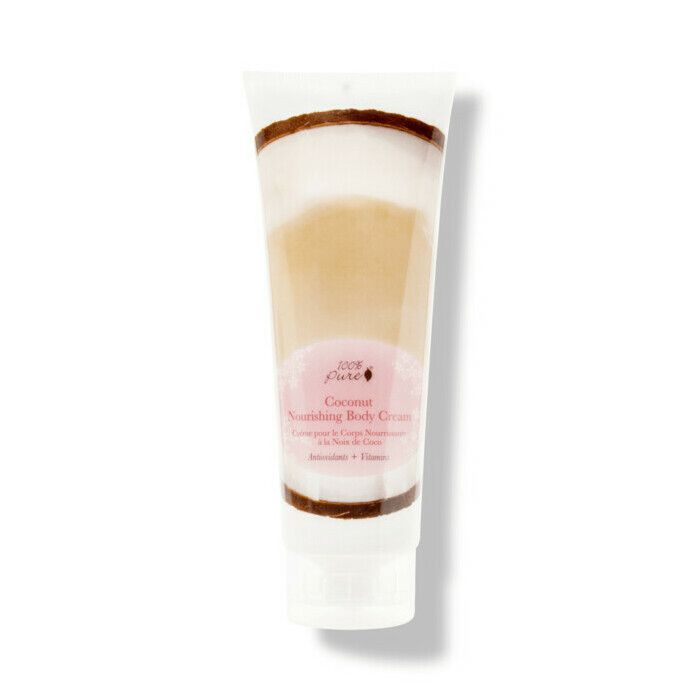 100% Pure Coconut Nourishing Body Cream