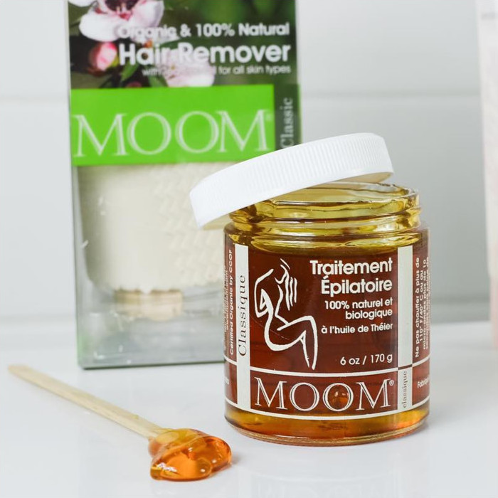 MOOM Organic Hair Removal with Tea Tree - Kit | Nourished Life ...