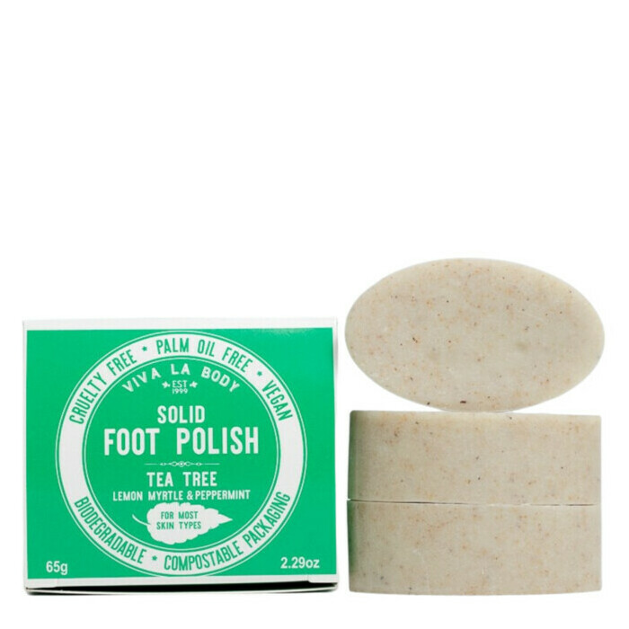 Viva La Body Solid Foot Polish - Tea Tree