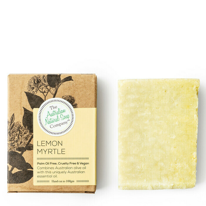 Aus Natural Soap Co Lemon Myrtle Soap