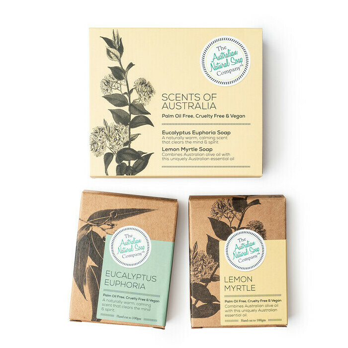 Aus Natural Soap Co Scents of Australia Soap Pack