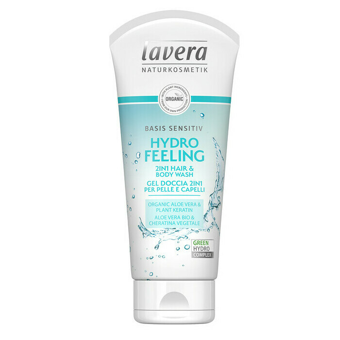Lavera Basis Sensitive Hydro Feeling 2-in-1 Hair & Body Wash