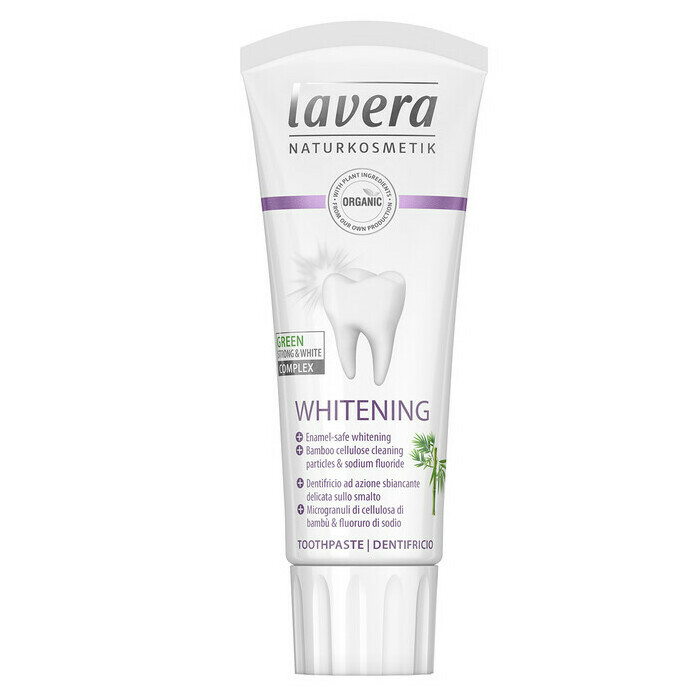 Lavera Whitening Toothpaste with Fluoride