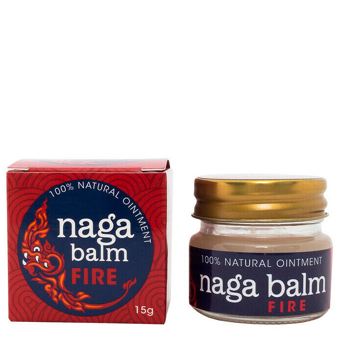 Naga Balm Natural Relief Ointment - Fire