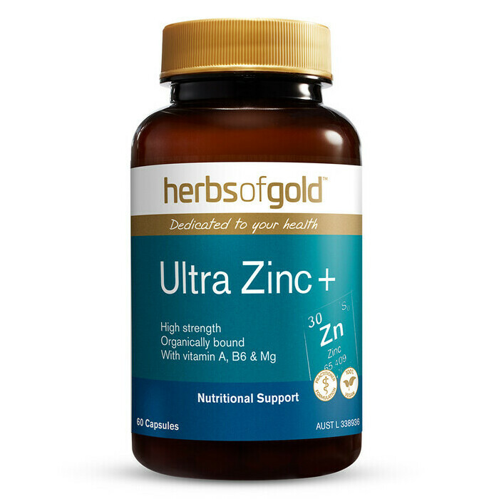 Herbs of Gold Ultra Zinc +