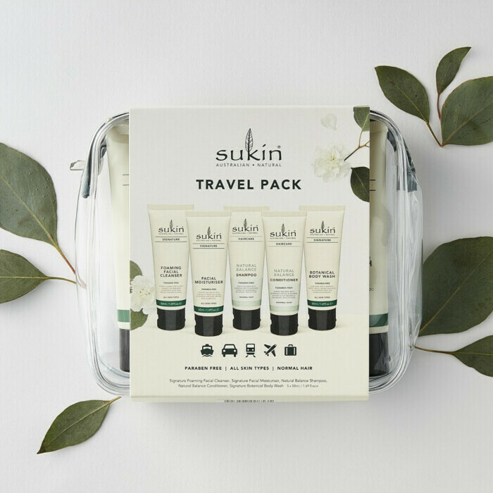 Sukin Signature Travel Pack