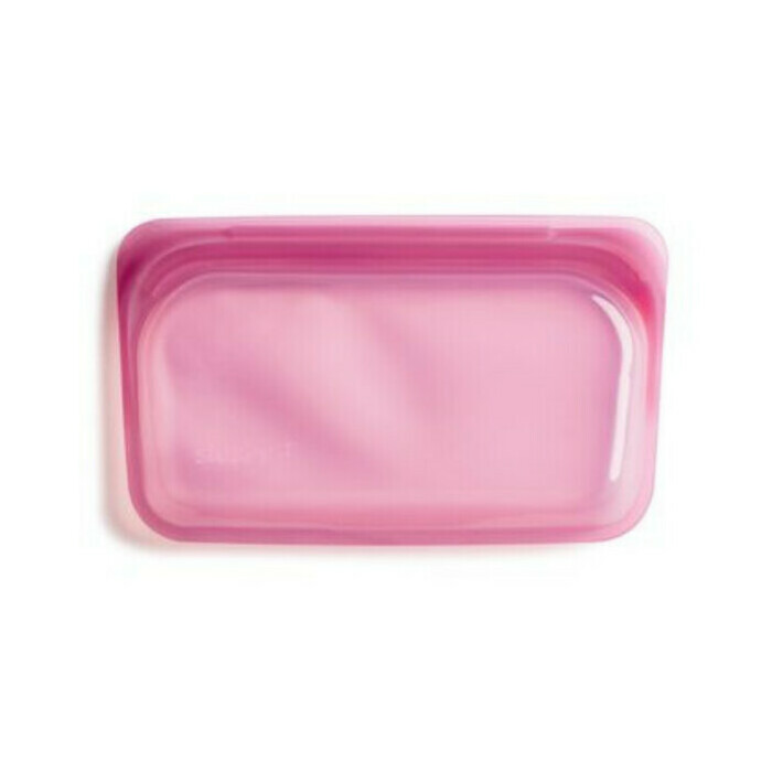 Stasher Snack Reusable Silicone Bag Hibiscus 293ml