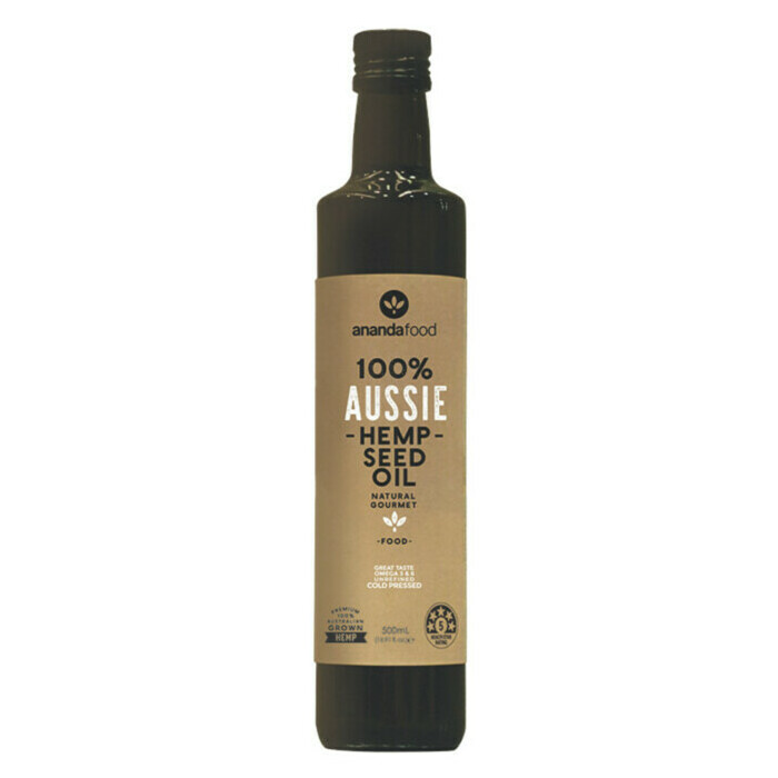 Ananda Food Hemp Seed Oil 500ml