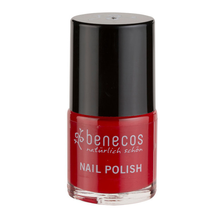 Benecos Happy Nails Nail Polish - Vintage Red