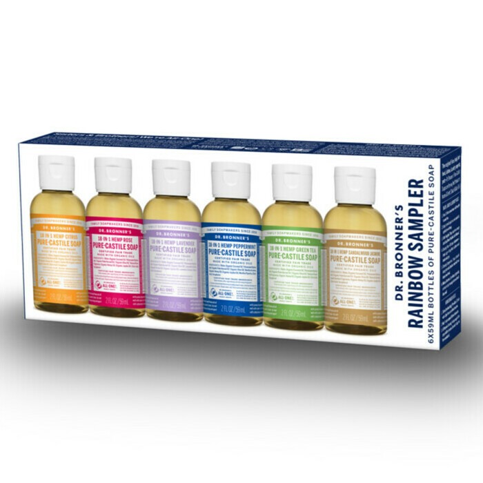 Dr Bronner's Rainbow Sampler Pack
