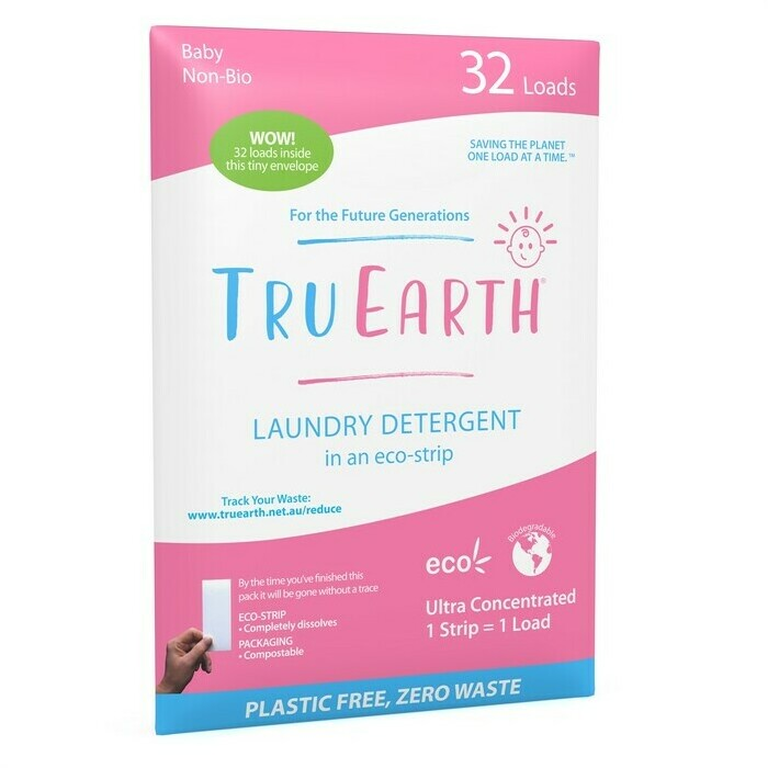 Tru Earth Baby Laundry Detergent Eco-Strips