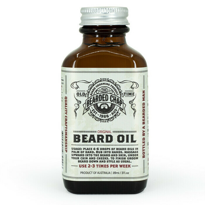 The Bearded Chap - Original Beard Oil