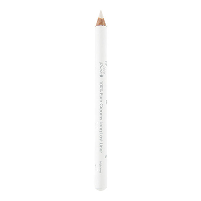 100% Pure Bright Eyes Creamy Long Last Liner - White