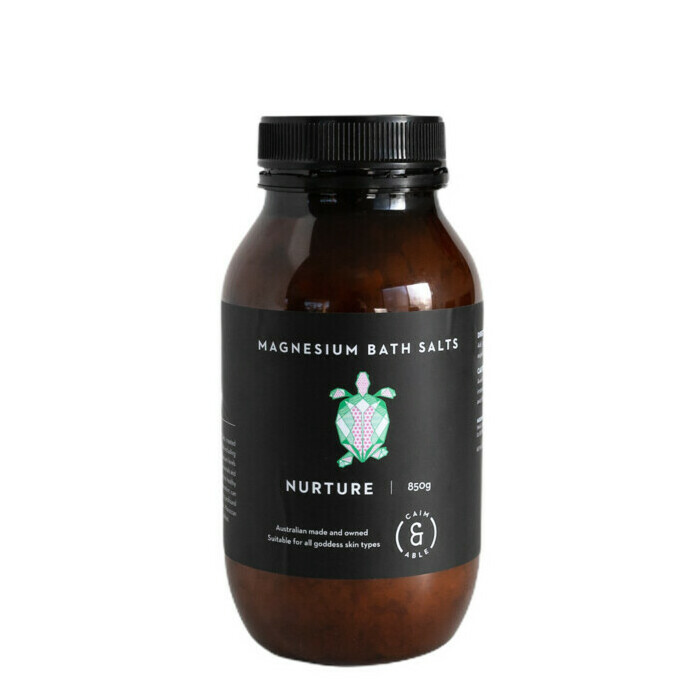 Caim & Able NURTURE Magnesium Bath Salts - Rose & Frankincense