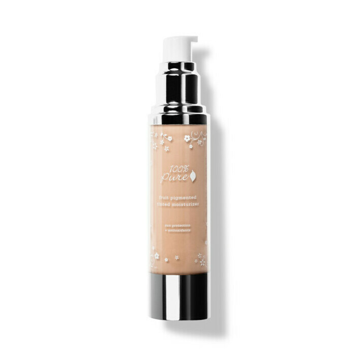 100% Pure Tinted Moisturiser - White Peach