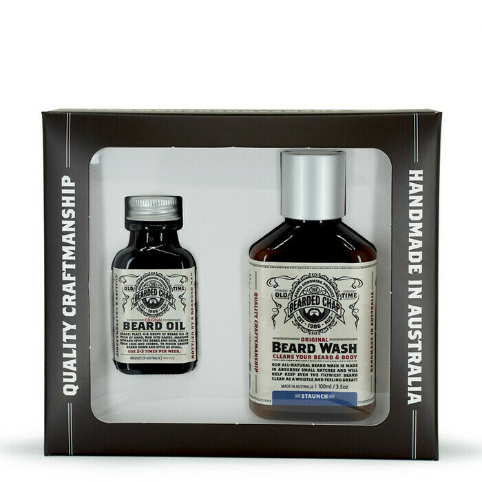 The Bearded Chap Luxe Beard Duo Kit - Staunch