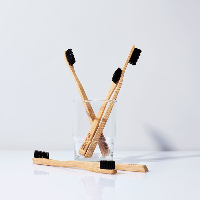Life Basics Bamboo & Charcoal Toothbrush