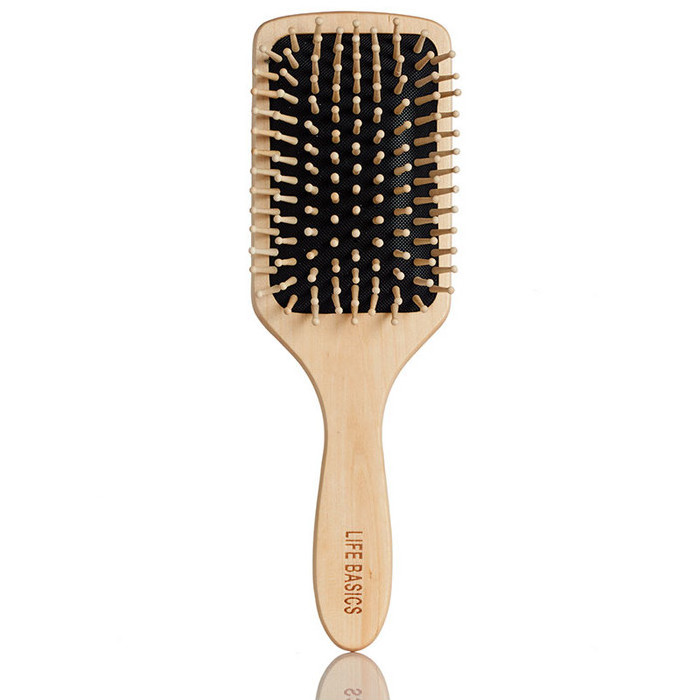 Life Basics Vegan Bamboo Hair Brush - Large