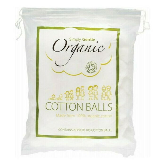 Simply Gentle Organic Cotton Balls