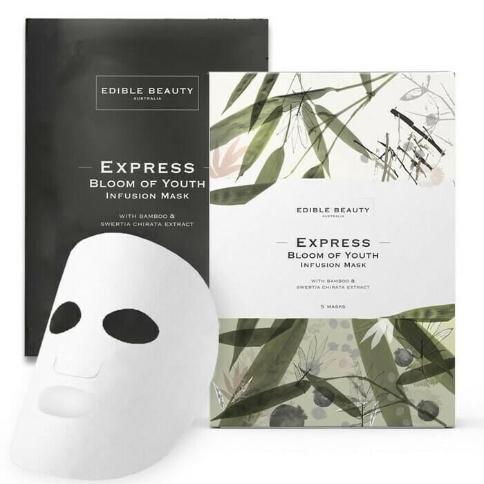 Edible Beauty Express Bloom of Youth Infusion Mask