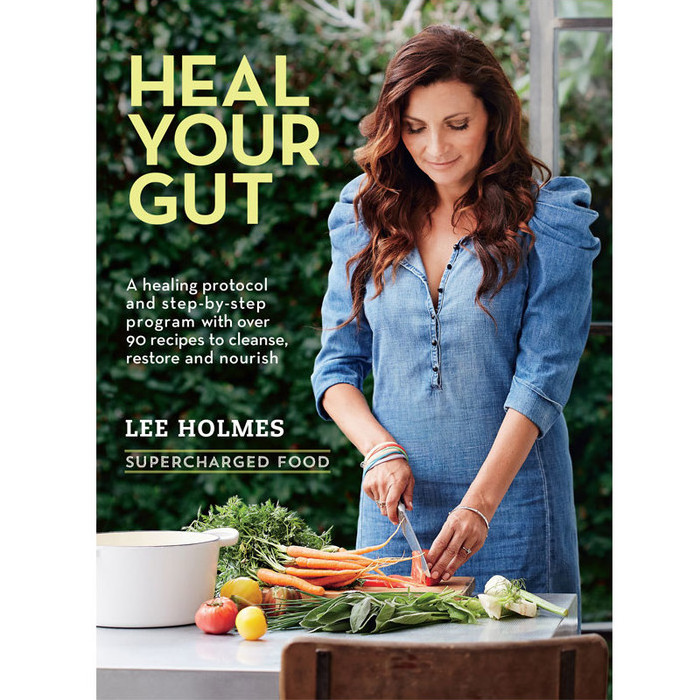 Supercharged Heal Your Gut by Lee Holmes