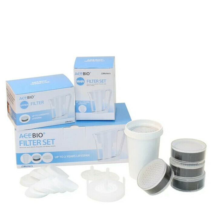 Waters Co AcePot Bio+ Jug Replacement Filter Set