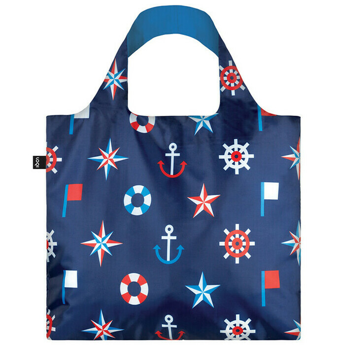 Loqi - Reusable Shopping Bag - Nautical Classic | Nourished Life ...