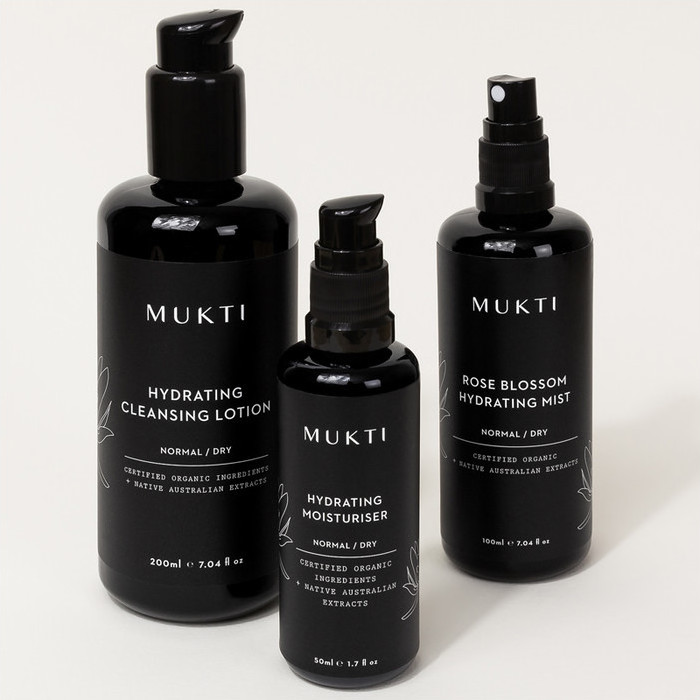 Mukti 3-Step Hydrating Collection