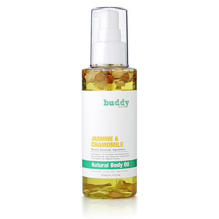 Buddy Scrub Jasmine & Chamomile Body Oil