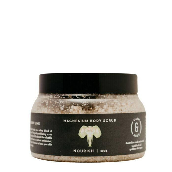 Caim & Able NOURISH Magnesium Body Scrub - Coconut & Lime