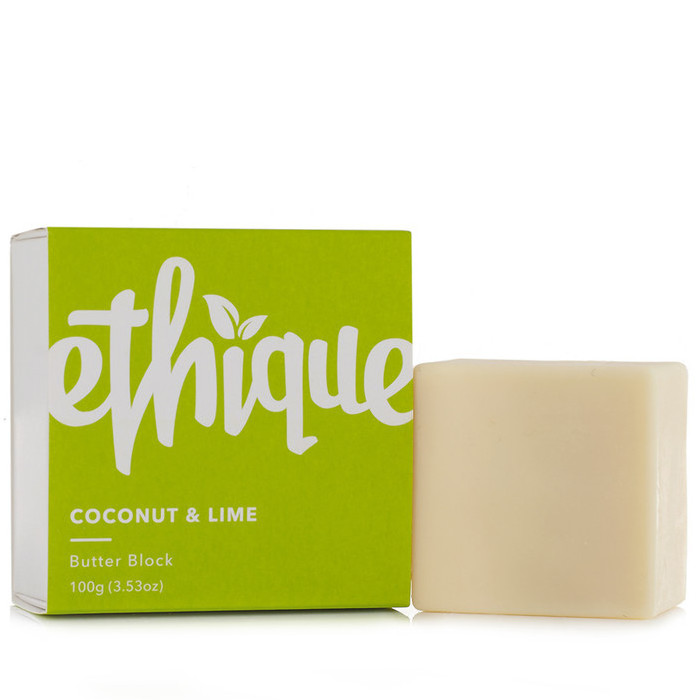 Ethique Butter Block - Coconut & Lime Body Lotion