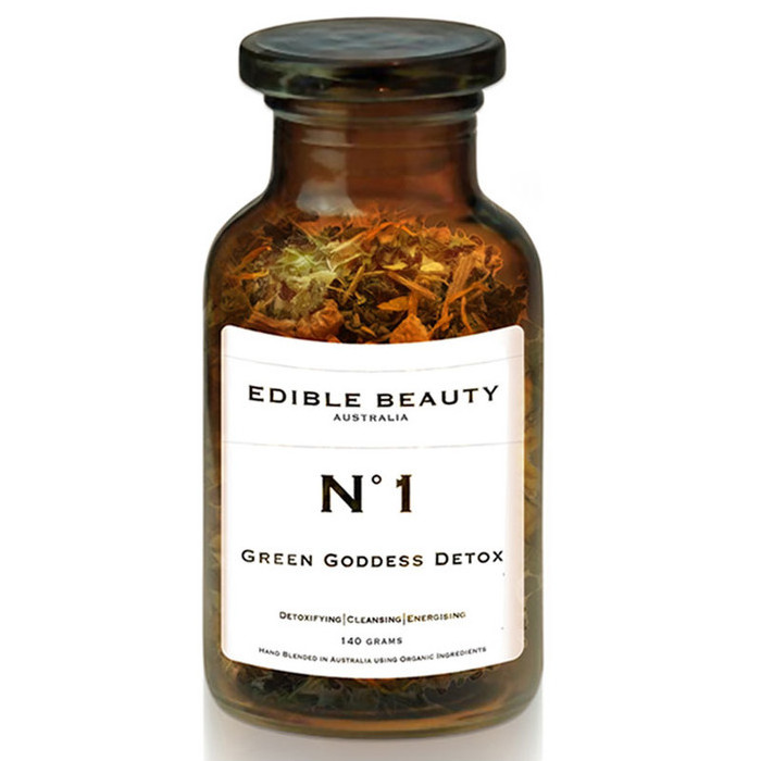 Edible Beauty Tea No. 1 - Green Goddess Detox