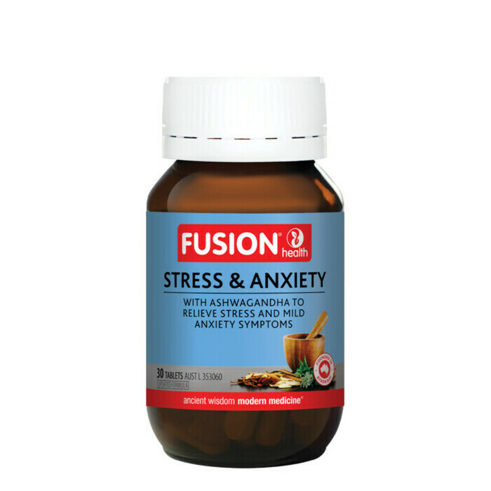 Fusion Health Stress & Anxiety