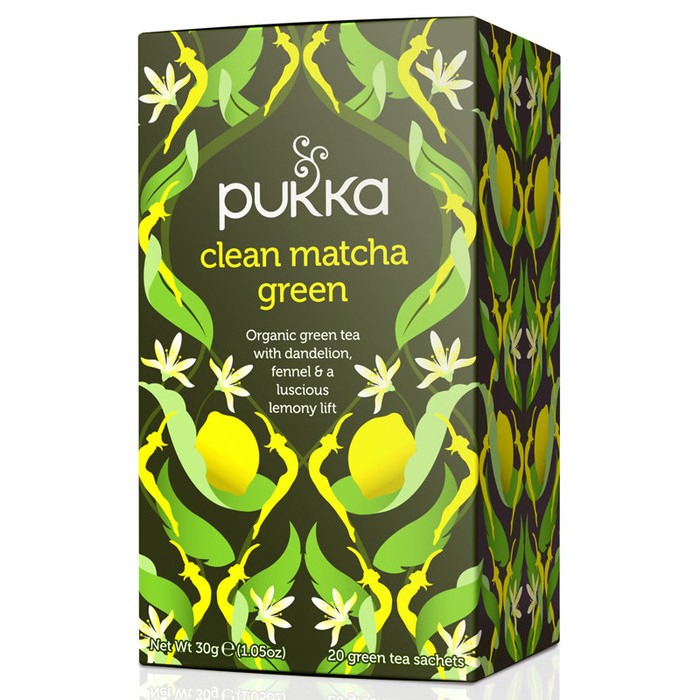 Pukka Tea - Clean Matcha Green