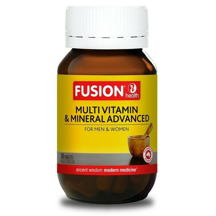 Fusion Health Multivitamin and Mineral Advanced