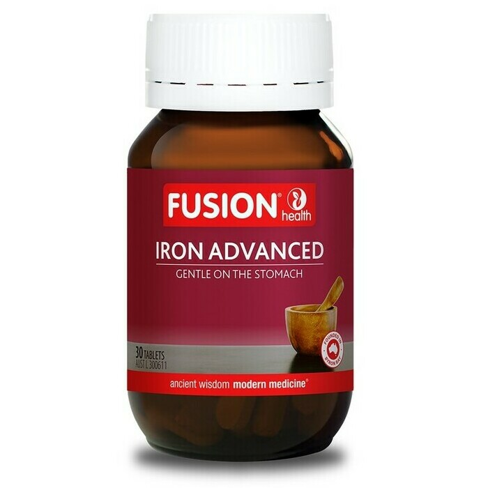 Fusion Health Iron Advanced Tablets