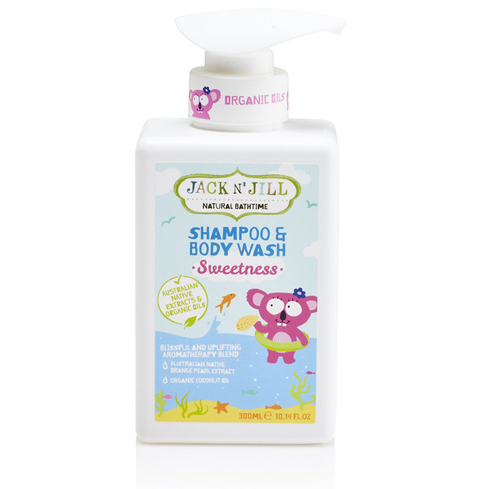 Jack N' Jill Natural Bathtime Shampoo & Body Wash - Sweetness