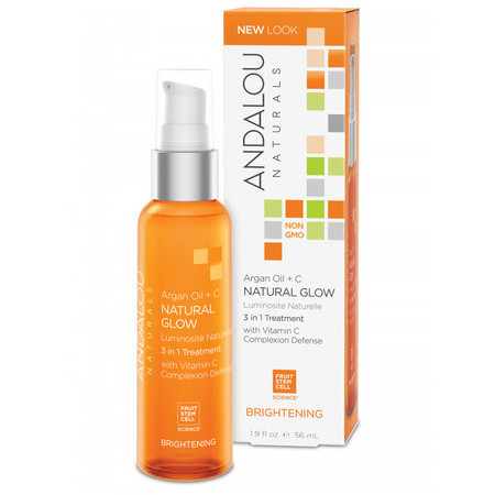 Andalou Naturals Argan Oil + C Natural Glow 3 in 1 Treatment