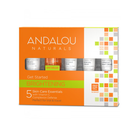 Andalou Naturals Get Started Kit - Brightening