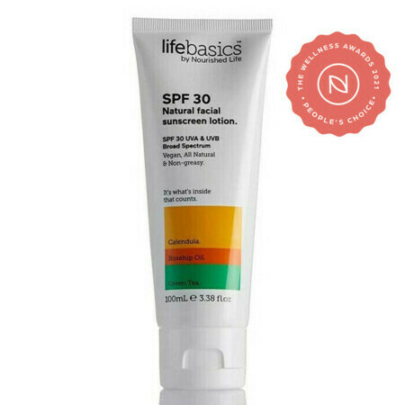 Life Basics - SPF 30 All Natural Facial Sunscreen