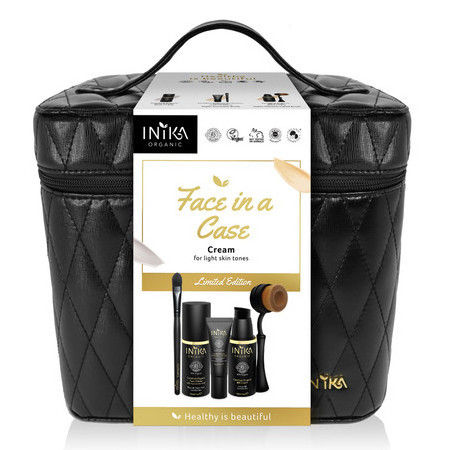 Inika Limited Edition Face in a Case - Cream